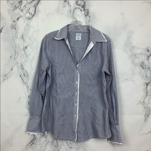 Brooks Brother Striped Button Down